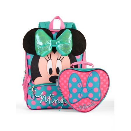 Minnie Mouse Backpack With Lunch Bag