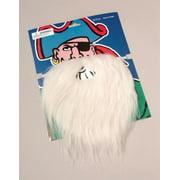 OTC Disguise Santa Claus, Wizard, Biker Fake Beard and Mustache Costume, White