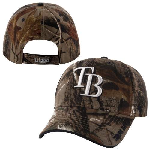 Tampa Bay Rays '47 Brand Frost Adjustable Hat - Realtree Camo - OSFA