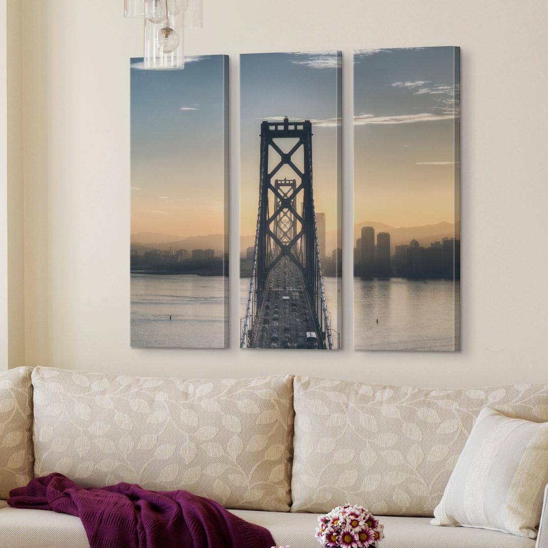 3-Piece Canvas Photo Cluster (3 - 12x36)