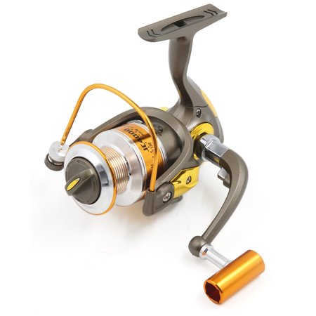 8BB 5.2:1 Foldable Spinning Reels Metal Left/Right Fishing Reel JC4000 - image 8 de 8