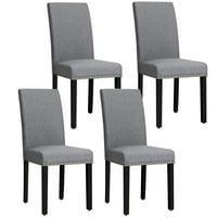 Set Of 4 Dining Chairs Walmart Com
