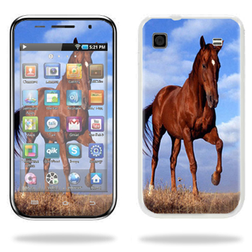 Mightyskins Protective Vinyl Skin Decal Cover for Samsung Galaxy Player 4.0 MP3 Player wrap sticker skins Horse