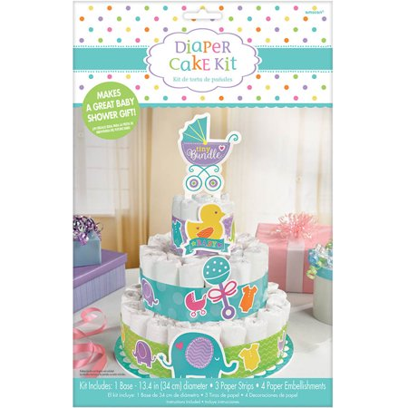 Diaper Cake Kit (Baby Shower Diaper Cake Kit - Party)