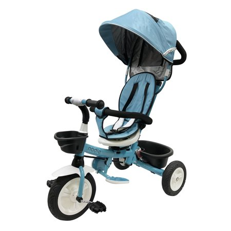4-in-1 Baby Kids Tricycle Stroller for 2 3 4 5 Year Old Toddler Boy Girl (Stroller For 5 Year Old At Disneyland)