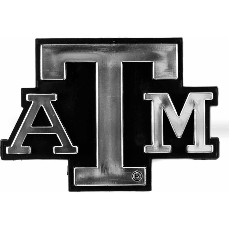 NCAA Texas A&M Chrome Emblem