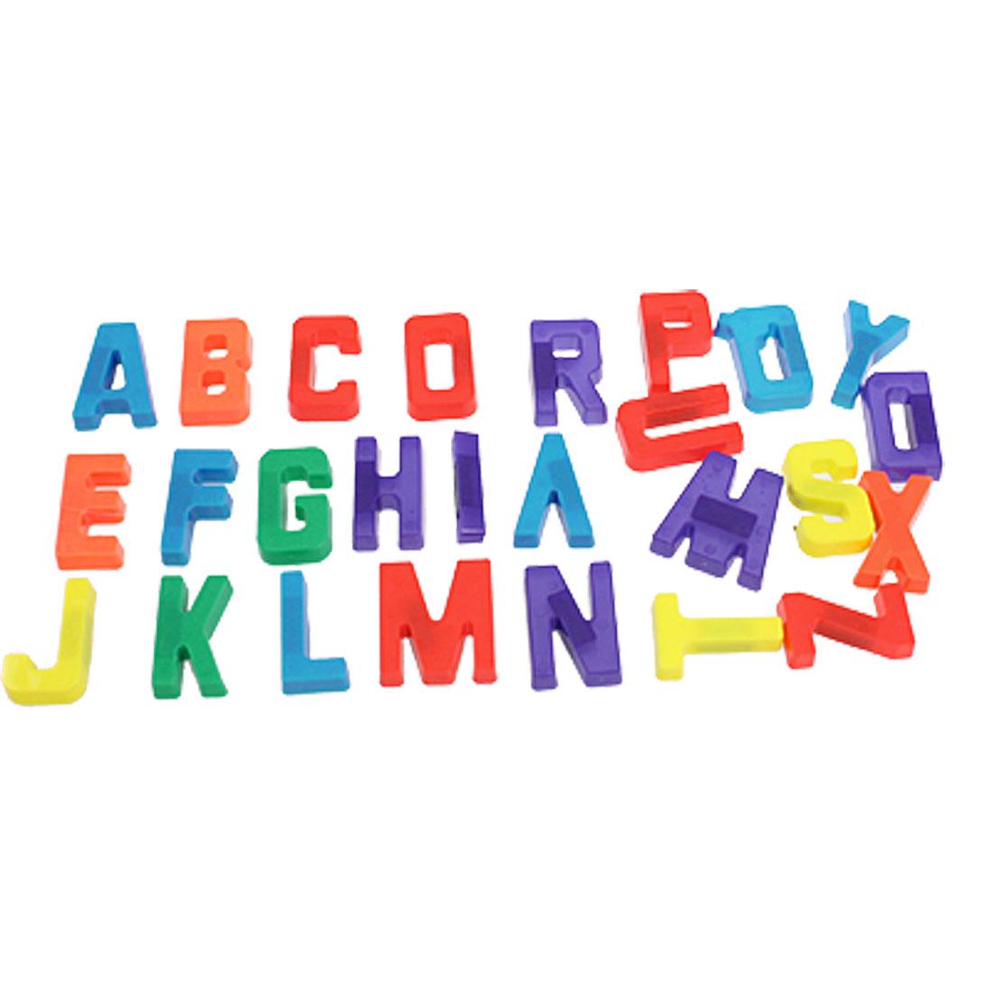 26 Pcs Alphabets Fridge Magnet Wall Letters Stickers