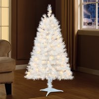 product image holiday time 4ft pre lit indiana spruce artificial christmas tree with 105 clear lights