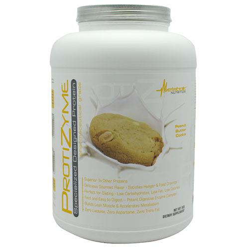 Metabolic Nutrition Protizyme - Peanut Butter Cookie - 5 ...