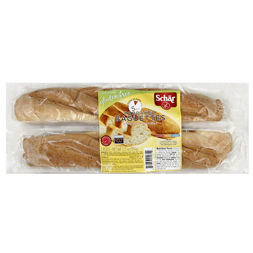 Schar Parbaked Baguettes, 2 count, (Pack of 6)