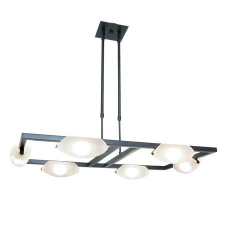 Access Lighting 63962LEDD-ORB/FST Nido LED 3 inch Oil Rubbed Bronze Chandelier Ceiling Light