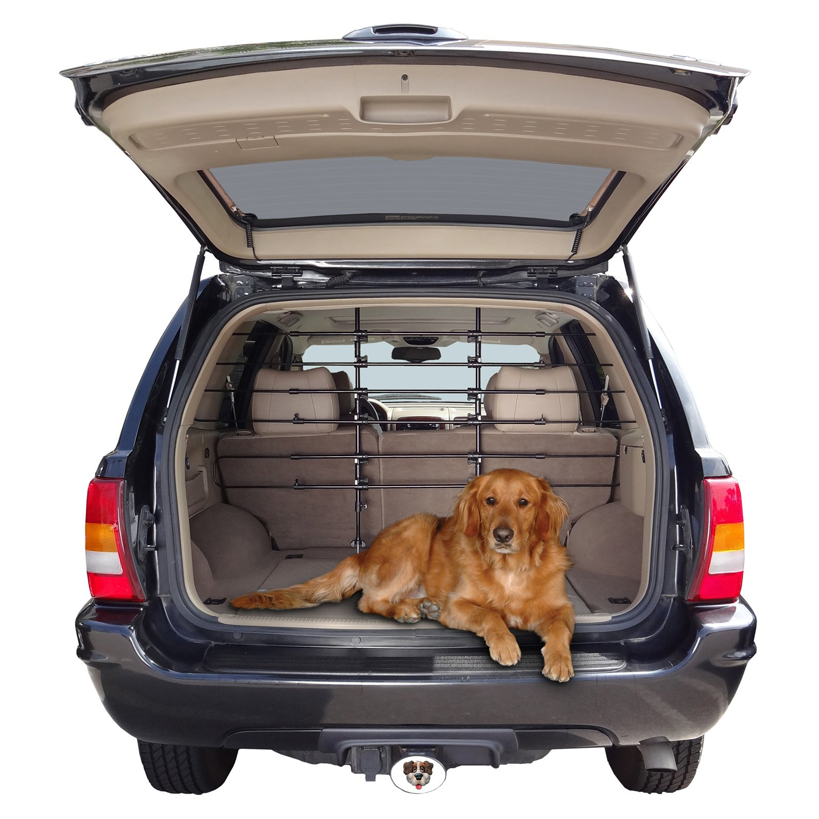 Precision Pet 6-Bar Universal Vehicle Pet Barrier