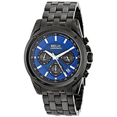 relic men's zr66035 grant black watch
