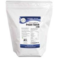 Judee's Gluten Free Unmodified Potato Starch, 4 lb