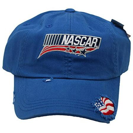 ... Logo Patriotic Ripped Style w/ American Flag Adult Men's Cap Hat