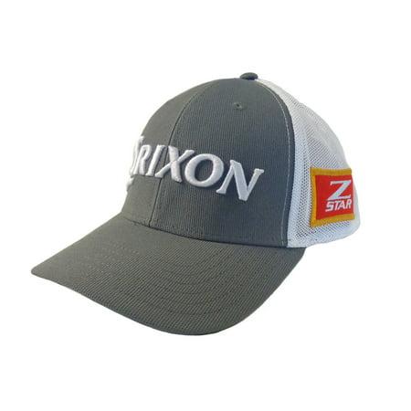 d95d385aac6 NEW Srixon Z-Star 6P Trucker Steel Grey White Adjustable Golf Hat Cap -  Walmart.com