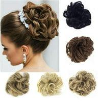 Florata Messy Hair Bun Updo Scrunchies Extension Ponytail Piece