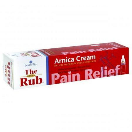 Natrabio The Arnica Rub Pain Relief Cream - 2 Ounce