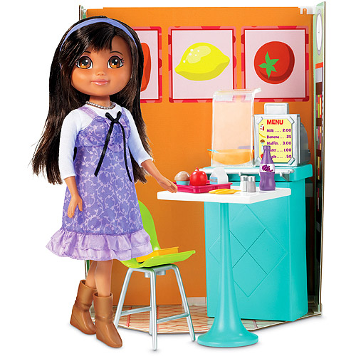 Dora Links School Cafeteria [Toy] by FISHER PRICE