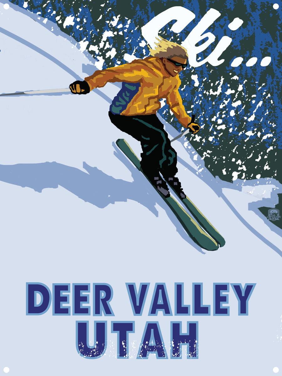 "Skiing Ski Jumping World Champion Winter Olympic Sport Poster 36/""x24/""  006"