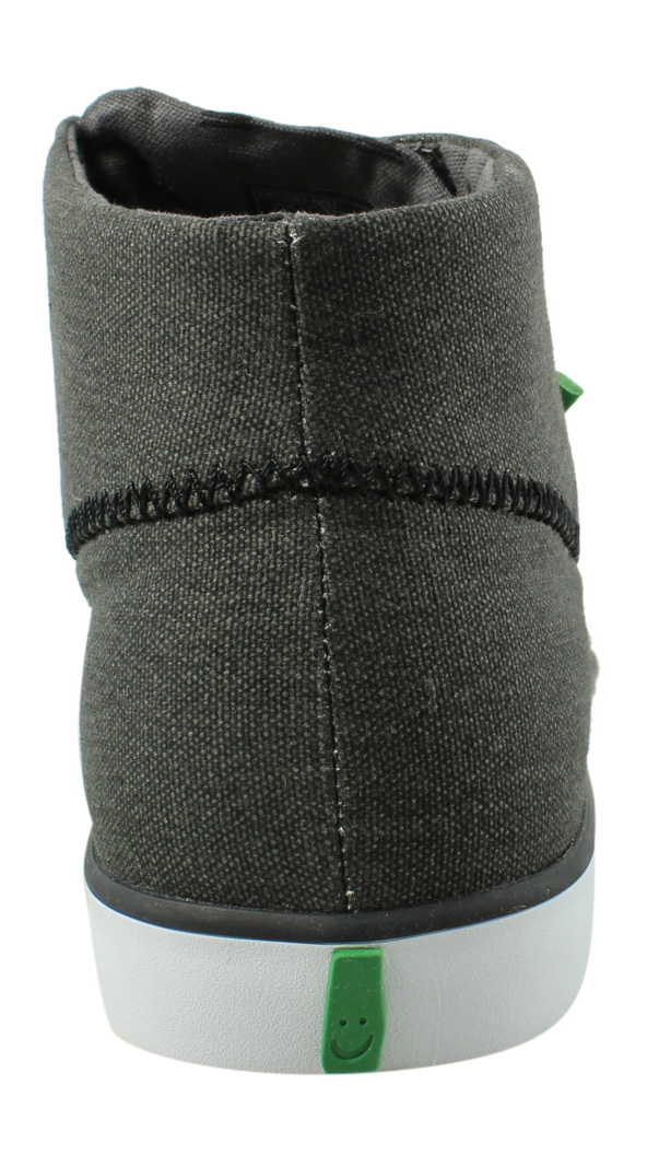 New Sanuk Mens Highrise Gray Fashion Shoes Size 7