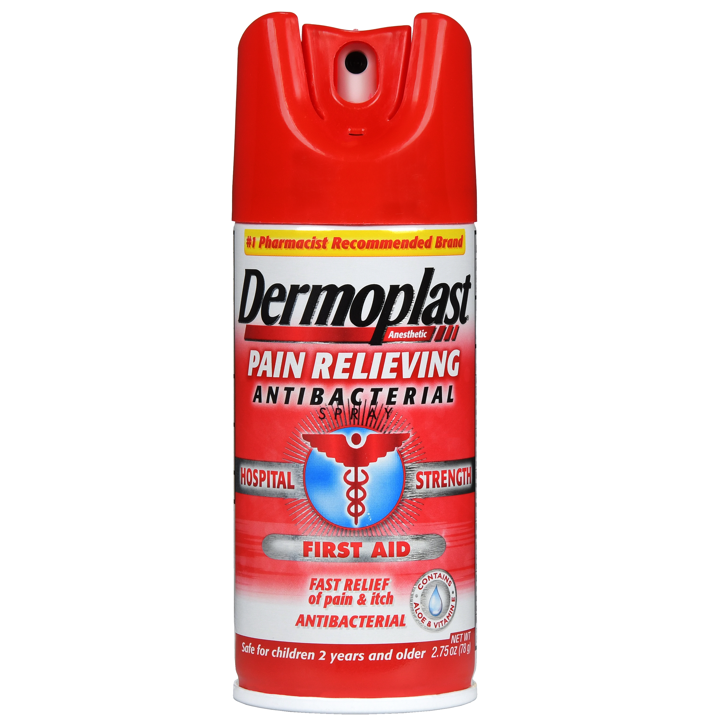 Dermoplast Antibacterial Pain Relieving Spray, 2.75 oz