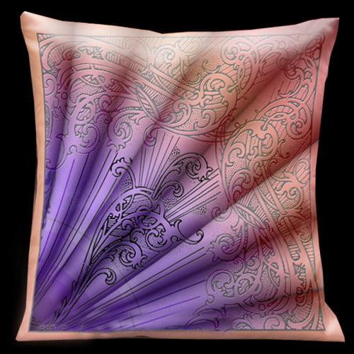 Lama Kasso Parisian Throw Pillow