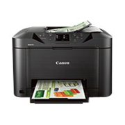 Canon MAXIFY MB5020 - Multifunction printer - color - ink-jet - A4 (8.25 in x 11.7 in), Legal (8.5 in x 14 in) (original) - Legal (media) - up to 23 ipm (printing) - 250 sheets - 33.6 Kbps - USB 2.0, LAN, Wi-Fi(n), USB host with Canon InstantExchange
