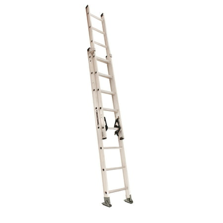 Louisville Ladder AE2216 16 ft. Aluminum Extension Ladder, Type IA, 300 lbs Load