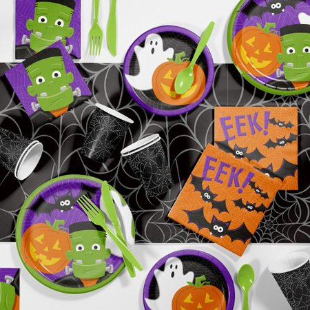 The Holiday Aisle Augusta Halloween 81 Piece Party Supplies Kit for $<!---->