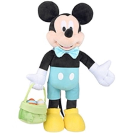 Mickey Mouse Easter Egg Basket Greeter, 24 Tall By Gemmy