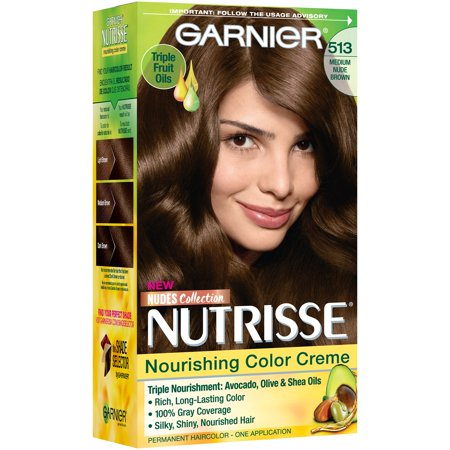 Garnier Nutrisse Nourishing Hair Color Creme Browns 513 Medium