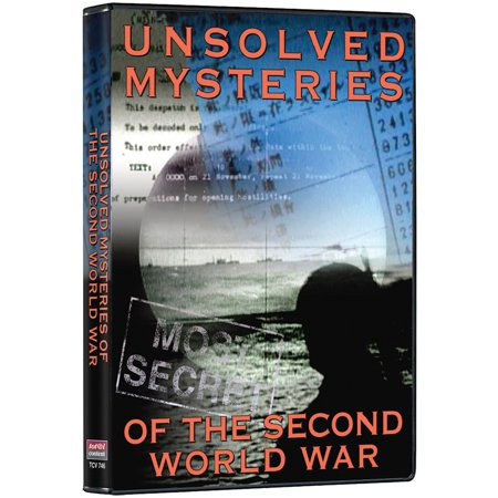 Unsolved Mysteries Of The Second World War DVD - 319 Historical