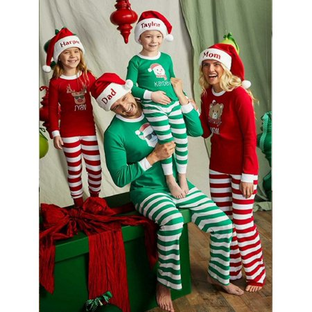 Lavaport Matching Pajamas Sets Family Christmas Series Outfit Sleepwear (Family Christmas Outfits)