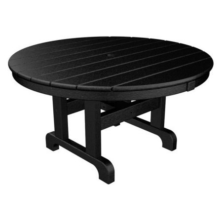 Trex Outdoor Furniture Recycled Plastic Cape Cod Round 36 In Conversation Table