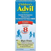 Childrens Advil 100 Mg Children's Ibuprofen, Liquid Pain Reliever and Fever Reducer for Ages 2-11, White Grape - 4 Fl Oz