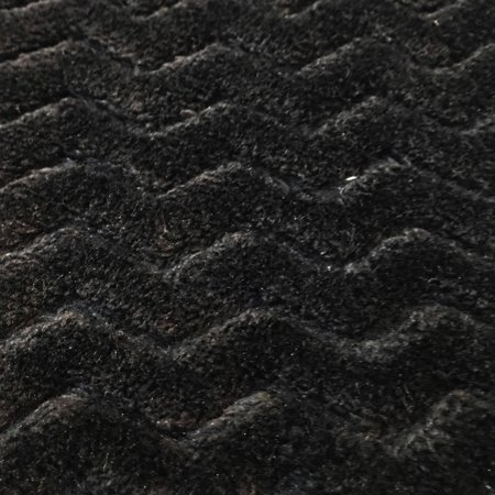 "RTC Fabrics Polyester Fleece 60"" Zigzag Black Fabric, per Yard"