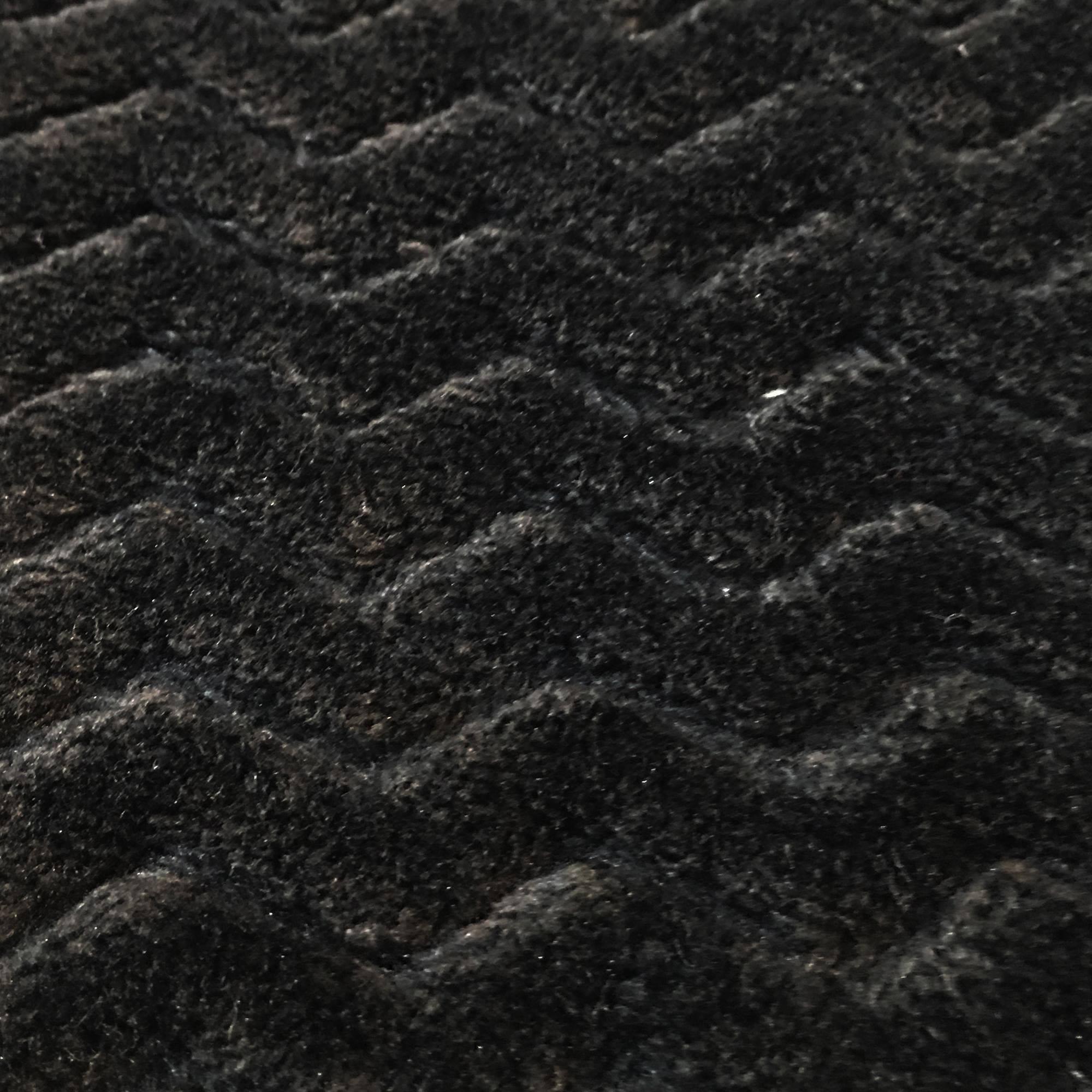 """RTC Fabrics Polyester Fleece 60"""" Zigzag Black Fabric, per Yard"""