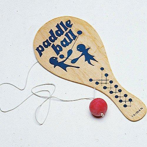 Wood Paddle Balls