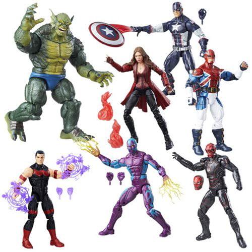 Captain America: Civil War Marvel Legends Wave 3 - Complete Set of 6