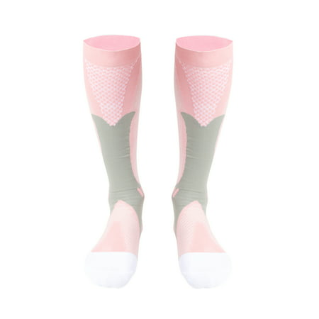 NK SUPPORT Women/Men 20-30mmHg Compression Socks Best Recovery Trouser Sock for Sports, Running, Travel, Maternity, Circulation & Recovery, Boost Performance, Stamina, Medical Use Single (One (Best Home Pregnancy Test To Use)