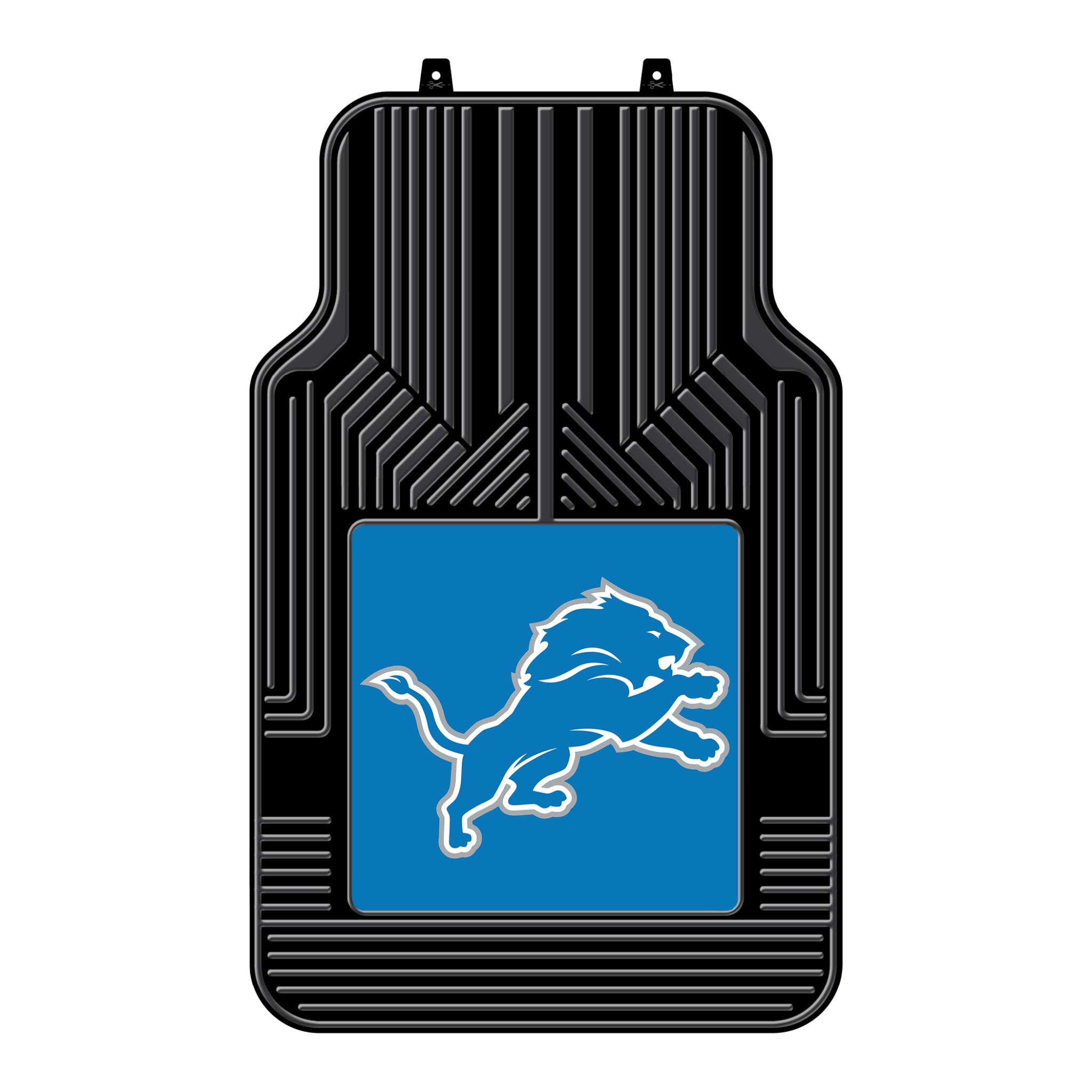 NFL Detroit Lions Floor Mats - Set of 2