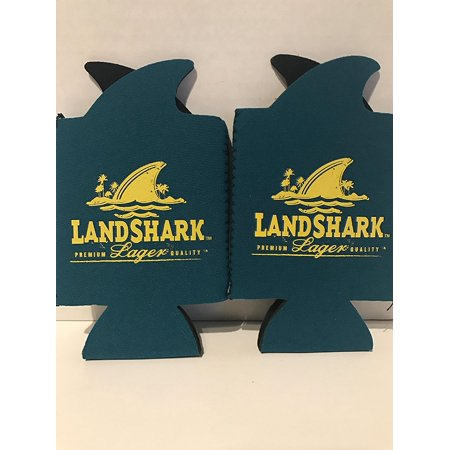 Landshark Beer Cooler Blue and Yellow - Set of 2, Set of 2 Premium Landshark Beverage Coolers By Landshark (Bear Chess Set)