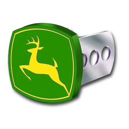 John Deere Full Color Hitch Plug Cover