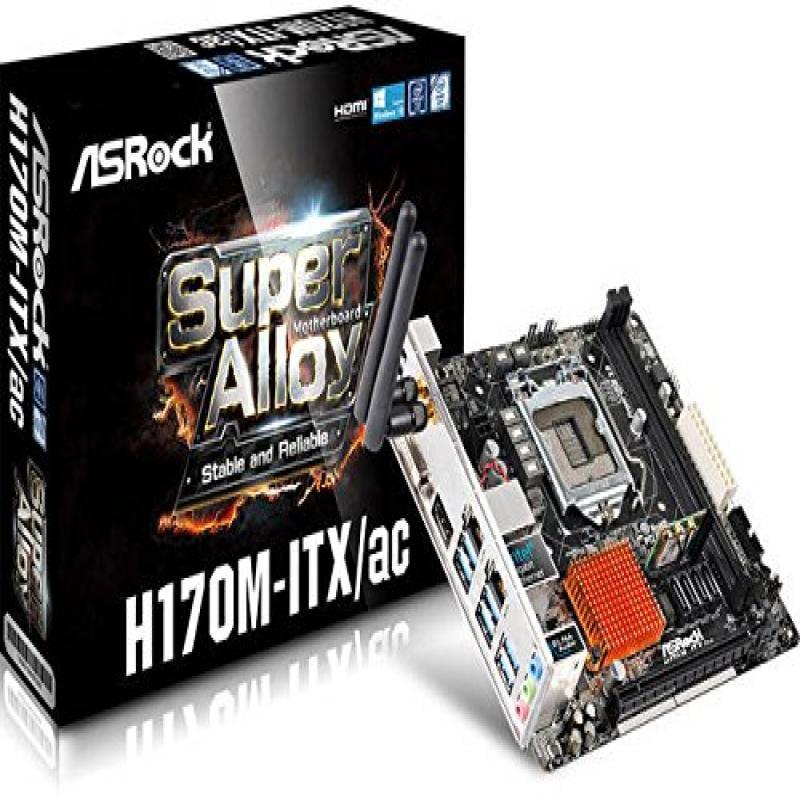 New Drivers: ASRock H170M-ITX/ac Realtek LAN