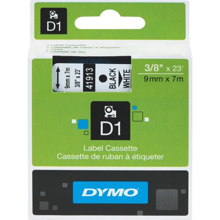 Dymo, DYM41913, D1 Electronic Tape Cartridge, 1 Each,
