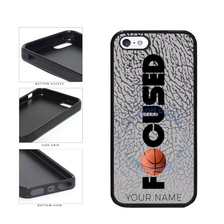 official photos f9b5f a1bf0 BleuReign(TM) Basketball Personalized Custom Name Focused TPU RUBBER ...