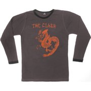 Clash Men's  Dragon Thermal  Long Sleeve Brown