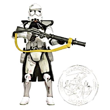 Star Wars Saga Legends Action Figure - Clone Commander with Exclusive Collector