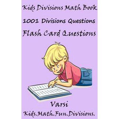 Kids Divisions Math Book: 1001 Divisions Questions - eBook